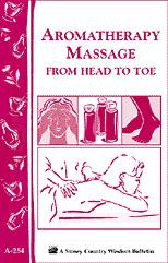 Aromatherapy Massage from Head to Toe Book