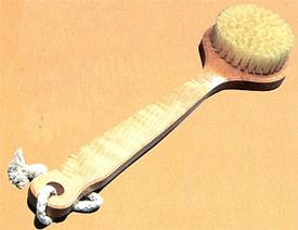 Sauna Bath Brush-Large-Natural Wood