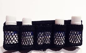 Essential Oil Case Organizer Insert-5 Bottles-Black Only