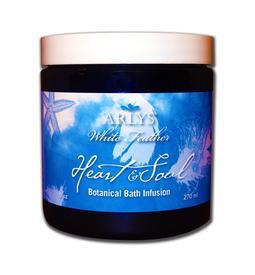 White Feather Heart & Soul Botanical Bath Infusion - 9 oz.