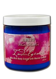 White Feather Indulgence Ultra-Rich Body Cream - 8 oz.