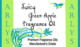 Juicy Green Apple Fragrance Oil