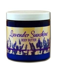 White Feather Lavender Sunshine Body Butter - 8 oz.