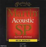 Martin MSP3100 Studio Performance Bronze Light Acoustic Strings