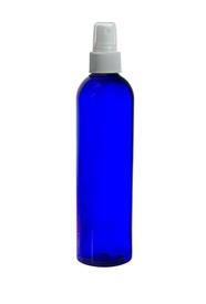 4 oz. Cobalt PET Cosmo Round with Fine Mist Sprayer