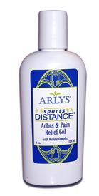 Sports Distance Aches and Pains Relief Gel with Marine Complex - 4 oz.