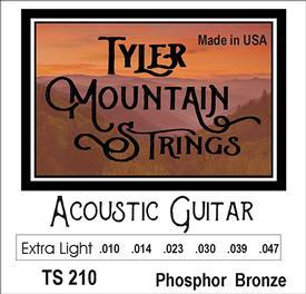 Tyler Mountain TS210 Acoustic Guitar Strings Extra Light-Phosphor Bronze