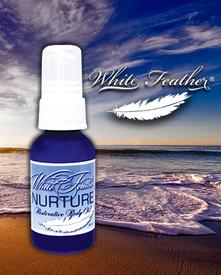 White Feather Nurture Restorative Body Oil - 1 oz.