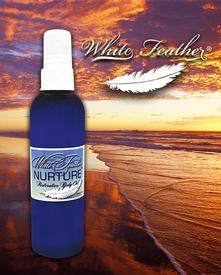 White Feather Nurture Restorative Body Oil-4 oz.