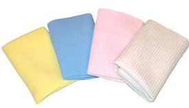 Chamois Cloths for Face and Body  9 x 9
