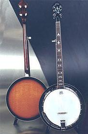 Tyler Mountain TM5-80 Five String Banjo with Resonator