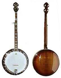Tyler Mountain TM-700 Vintage-Style Five String Banjo with Resonator