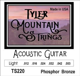 Tyler Mountain TS220 Acoustic Guitar Strings Light- Phosphor Bronze-SPECIAL PRICING AVAILABLE FROM DEALERS