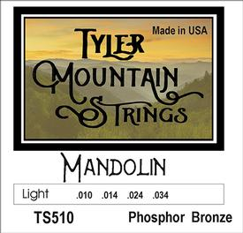 Tyler Mountain TS510 Mandolin Strings Light-Phosphor Bronze Loop End-SPECIAL PRICING AVAILABLE FROM DEALERS
