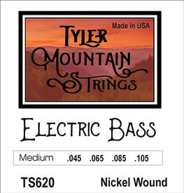 Tyler Mountain TS620 Electric 4-String Bass Strings -Medium-Nickel Wound-SPECIAL PRICING AVAILABLE FROM DEALERS