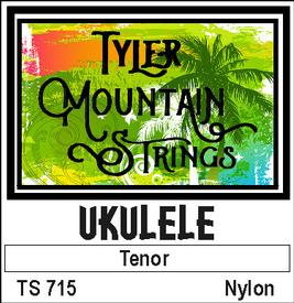 Tyler Mountain TS715 Ukulele Strings Tenor-Nylon SPECIAL PRICING AVAILABLE FROM DEALERS