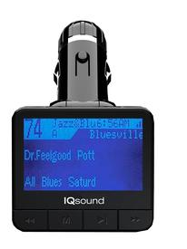 WIRELESS FM TRANSMITTER WITH 1.4 DISPLAY
