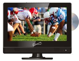 13.3 LED HDTV WITH DVD, USB/SD, HDMI INPUTS