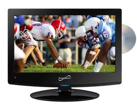15.6 LED HDTV WITH DVD, USB/SD, HDMI INPUTS