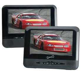 7 DUAL SCREEN DVD PLAYER WITH USB/SD INPUTS