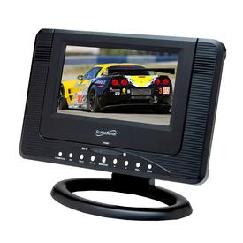 7 PORTABLE RECHARGEABLE LCD TV/DVD WITH USB & SD INPUTS