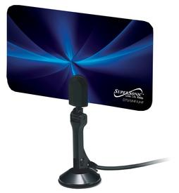 FLAT DIGITAL HDTV ANTENNA WITH VHF AND UHF FREQUENCY RANGE