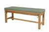 "4-Foot Backless Bench: BH-7048B (Price: $300.00) <br> (Cushion Not Included But Can Be Purchased Below)<br>Bench Dimensions: 48"" Wide, 18"" Deep, 18"" High <br>Weight: 45 Pounds<br> Free Shipping Included !!!"