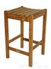 "<br>Regal Teak Premium Bar Stool (Price: $252.35) <br>Dimensions: 17"" Wide, 18"" Deep, 29.5"" High<br>Weight: 18 Pounds <br>Free Shipping Included"