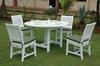 Anderson Teak Dining Set-P16 (Price: $1,460.00)&lt;br&gt;Table: 52&quot; Diameter, 30&quot; High, 90 Lbs.&lt;br&gt;Chairs: 17&quot; Wide, 35&quot; High, 17&quot; Deep, 30 Lbs. (each)&lt;br&gt;Set Weight: 210 Pounds &lt;br&gt;Shipping Weight: 285 Pounds&lt;br&gt;Free Shipping Included !!!