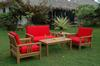 Anderson Teak Set-251<br> Free Shipping Included!!! <br>Sunbrella Cushions Also Included!!!<br> Set Weight: 335 Pounds <br>Shipping Weight:: 410 Pounds
