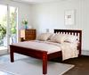 "Pinewood Twin Bed V-1364 (Price: $259.50)<br> (Headboard and Frame Only)<br> Headboard: 42.5"" Long, 35"" Hign, 2"" Thick<br> Total Dimensions: 77.5"" Long, 42"" Wide<br> Weight: 82.2 Pounds <br>Free Shipping !!!"