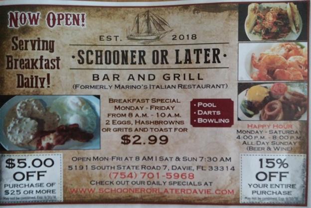 Schooner or Later Sch110