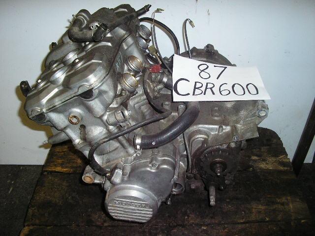 Used Honda Motorcycle Parts - Used Honda Parts - 87 Honda CBR600 - 87 Honda CBR600 engine 850.00 ...