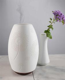 Tara Ultrasonic Diffuser-Ceramic-White