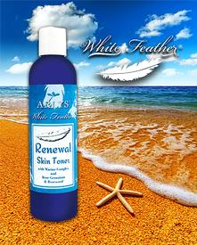 White Feather Renewal Skin Toner with Marine Complex-8 oz.