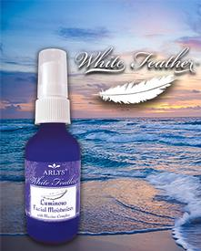 White Feather Luminous Facial Moisturizer with Marine Complex-2 oz.